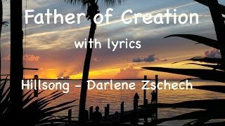 Father of Creation with lyrics   Hillsong   Darlene Zschech