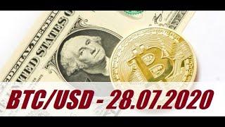 Bitcoin - BTCUSD/28.07.2020