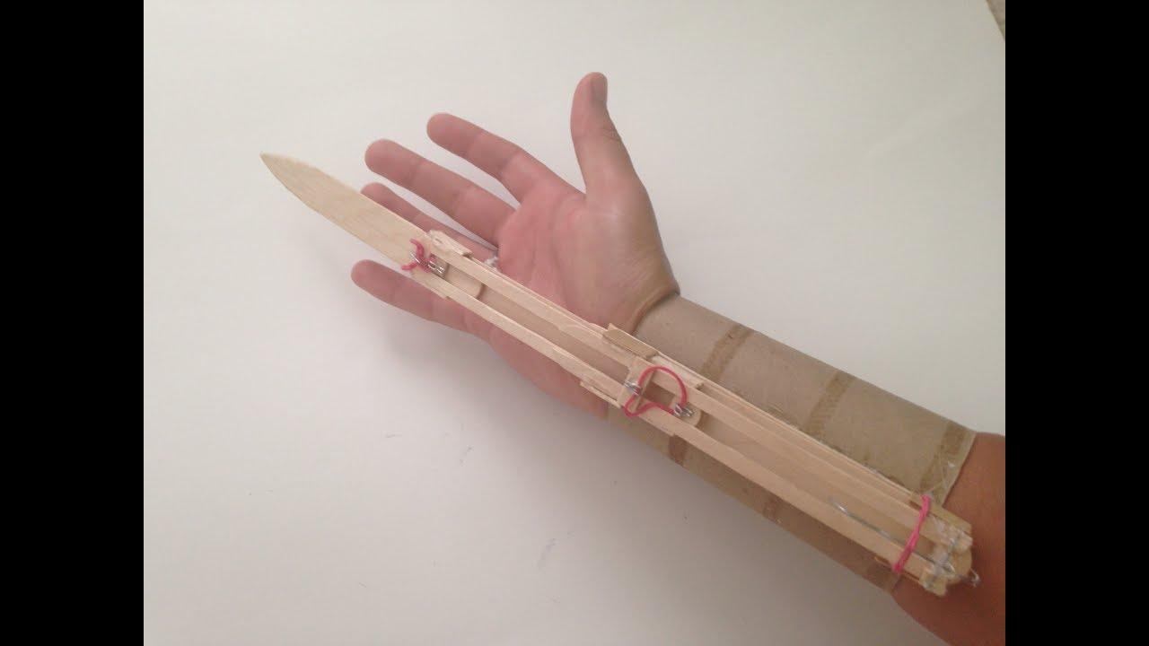 How to Make a Hidden Blade