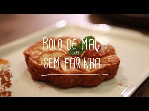 Bolo de Maçã sem Farinha | Receitas Saudáveis - Lucilia Diniz