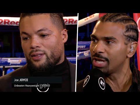 Joe Joyce and David Haye immediate breakdown of Daniel Dubois' knockout