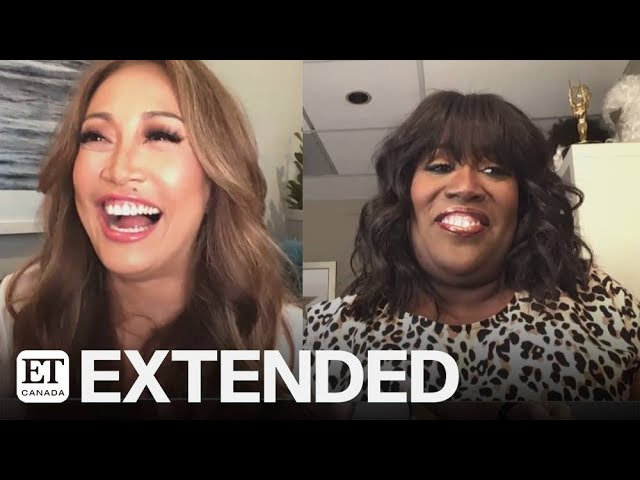 Carrie Ann Inaba, Sheryl Underwood Tease New 'Talk' Segments | EXTENDED