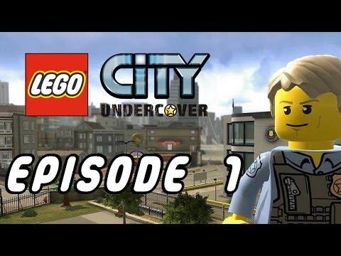 LEGO City Undercover  épisode 1  Wii U