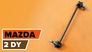 MAZDA 2 Tanko kallistuksenvaimennin asentaa : videokäsikirjat