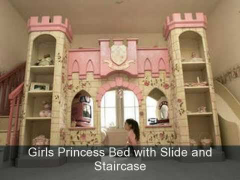 Decorating Girls Fairytale Princess Theme Bedrooms   YouTube