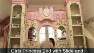 Decorating Girls Fairytale Princess  Theme Bedrooms