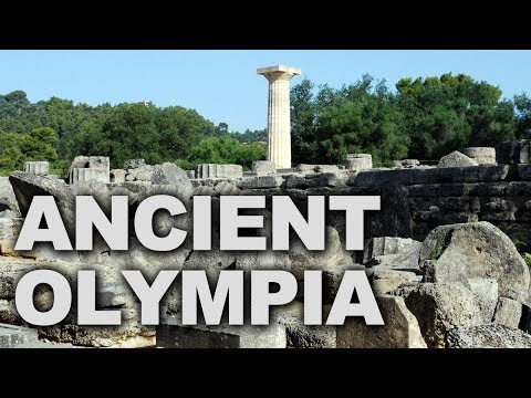 Ancient Olympia in Greece, Home of the Original Olympic Games