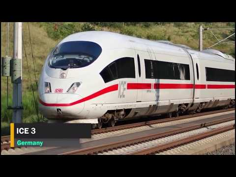 Top 10 Fastest Trains In The World 2019   Be Amazed   Amazing Compilation Of The High Speed Trains