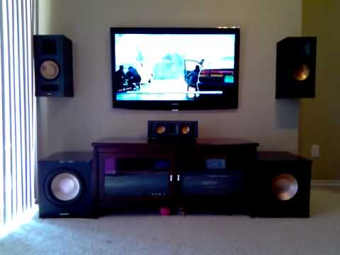 New Klipsch Acoustech Home Theater Youtube