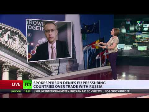 'No physical interference:' EU denies pressure on Latin America over trade with Russia