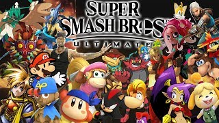 My Predictions for Smash Newcomers! - Super Smash Bros. Ultimate!