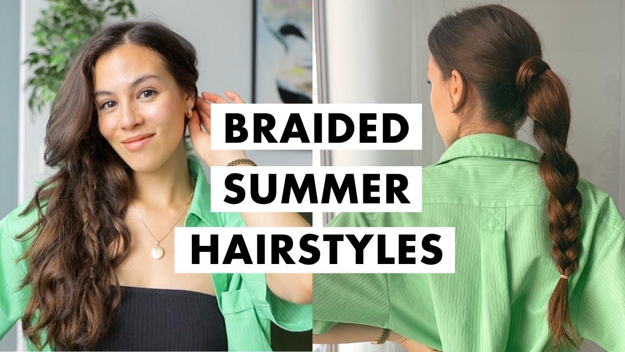 Easy Braid Hairstyles   Luxy Hair