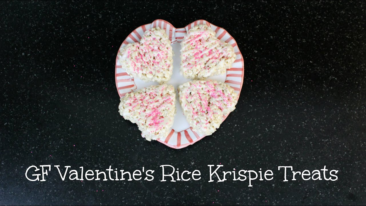 8b2fabb43e8f84 Valentine s Day    Gluten Free Rice Krispie Treats - YouTube