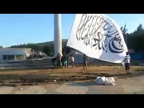 Raising the flag of Islam in Syria