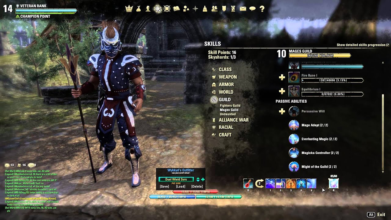 ESO V14 Sorcerer Burst DPS 444 Build Tamriel Unlimited ...
