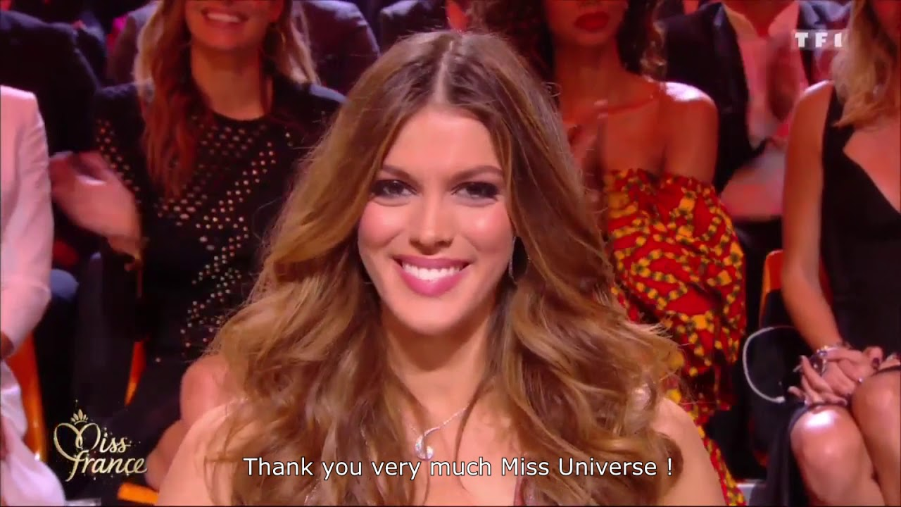 iris mittenaere at miss france 2018 pageant youtube. Black Bedroom Furniture Sets. Home Design Ideas