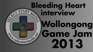 Interview with Team Bleeding Heart, Wollongong Game Jam 2013