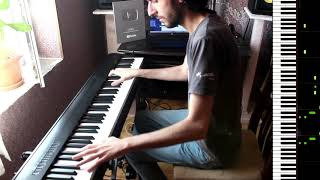 Emrah Karaduman - Dipsiz Kuyum - Piano  Cover by VN Video