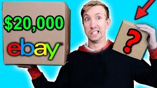 Download $10 VS $20,000 EBAY MYSTERY BOX Challenge Unboxing Haul! (Penny worth more than Bitcoin?!) Mp3 and Videos