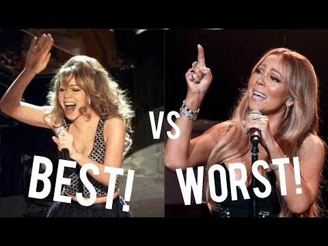Mariah Carey - At Her BEST vs. At Her WORST! (Vocal Battle)
