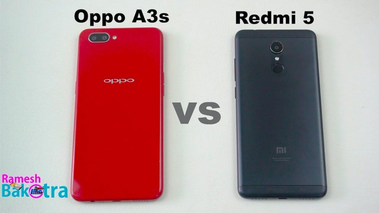 Oppo A3s vs Redmi 5 Speed Test and Camera Comparison - YouTube 296fdcf5e1