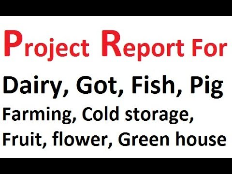 Project Report For Bank Loan Farming Business And Agricultural Project Wapp-7717706255