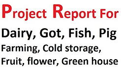 Project Report for bank loan Farming Business and agricultural project
