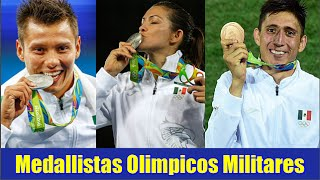 Medallistas Olimpicos Militares
