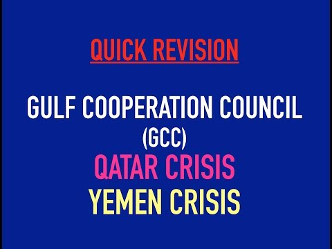 QRS -Gulf Cooperation Council, Qatar and Yemen Crisis
