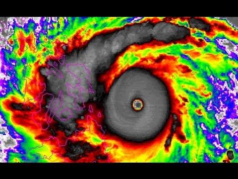 Catastrophic Haiyan (Yolanda) bears down on the Philippines - Update 5 (11/8)