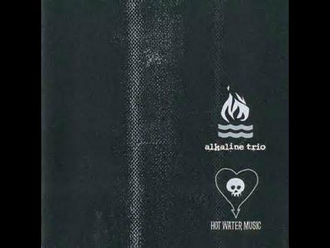 ALKALINE TRIO/HOT WATER MUSIC split ep