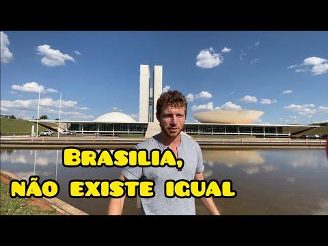 PRIMEIRA VEZ em BRASÍLIA: NUNCA VI uma Cidade assim