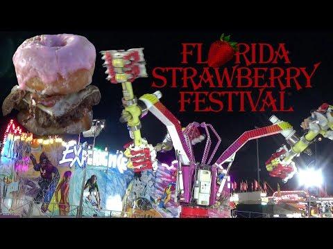 Wild Fair Rides & Crazy Carnival Eats at the 2019 Florida Strawberry Festival