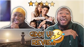 GIDDY UP OFFICIAL MUSIC VIDEO | HONEST REACTION!!!