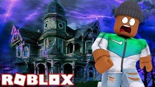 HAUNTED HOUSE OBBY IN ROBLOX