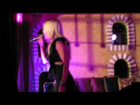 Melissa Tkautz - Live at the Spice Market, Melbourne. (Part 1)