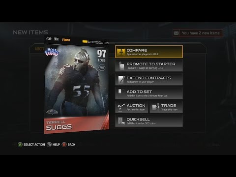 Madden 15 MUT | Ultimate Team Gameplay | MOST FEARED Terrell Suggs Pickup!