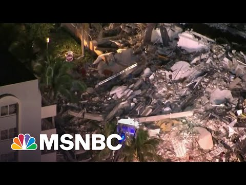 Nearly 100 Unaccounted For After Florida Condo Building Collapses
