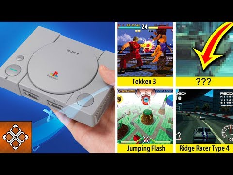 PlayStation Classic GAMES REVEAL (Games Sony WILL Include Unless They're INSANE)