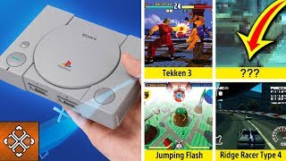 PlayStation Classic GAMES REVEAL (Games Sony WILL Include Unless They