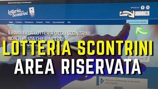 ... sito web: https://www.lotteriadegliscontrini.gov.it✔️ canale telegram: http://bit...