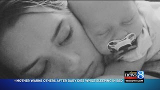 Mom hopes baby's co-sleeping death warns others