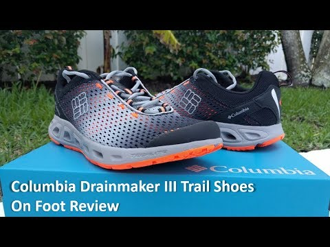 Columbia Drainmaker III Trail Shoes - Review and On Foot