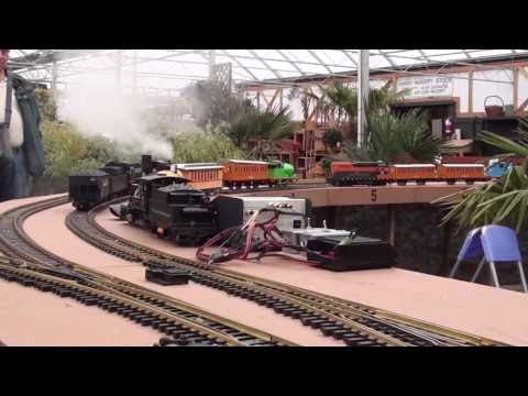 Model Railway Train Track Plans -Getting The Utmost From Your #55 G Gauge 'Time for Trains 2'  2011-01-24
