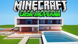 minecraft casa moderna para tutorial