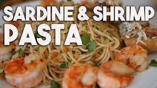 Sardine & Shrimp Pasta – A Gordon Ramsay Recipe