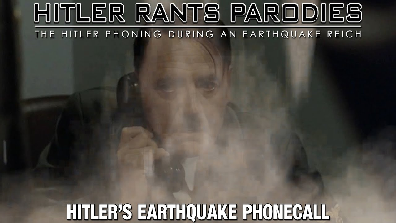 Hitler's earthquake phonecall