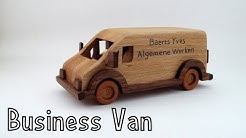 How To Make a Wooden Toy Citroën Jumper Van | Wooden Miniature - Wooden Creations