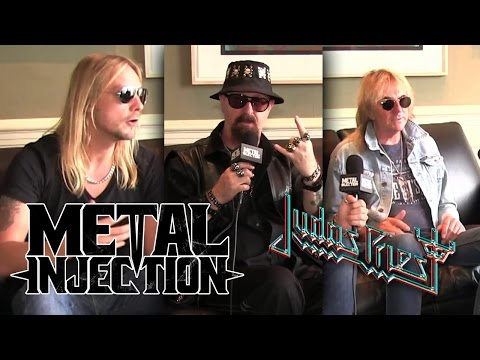 JUDAS PRIEST - The new album, being gay in metal & more | Metal Injection