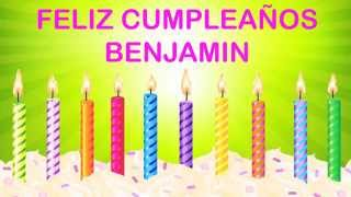 BenjaminEspanol  pronunciacion en espanol   Wishes & Mensajes - Happy Birthday